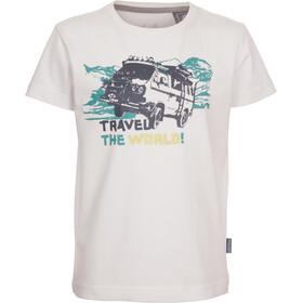 Elkline Abenteuer Shortsleeve Shirt Children white